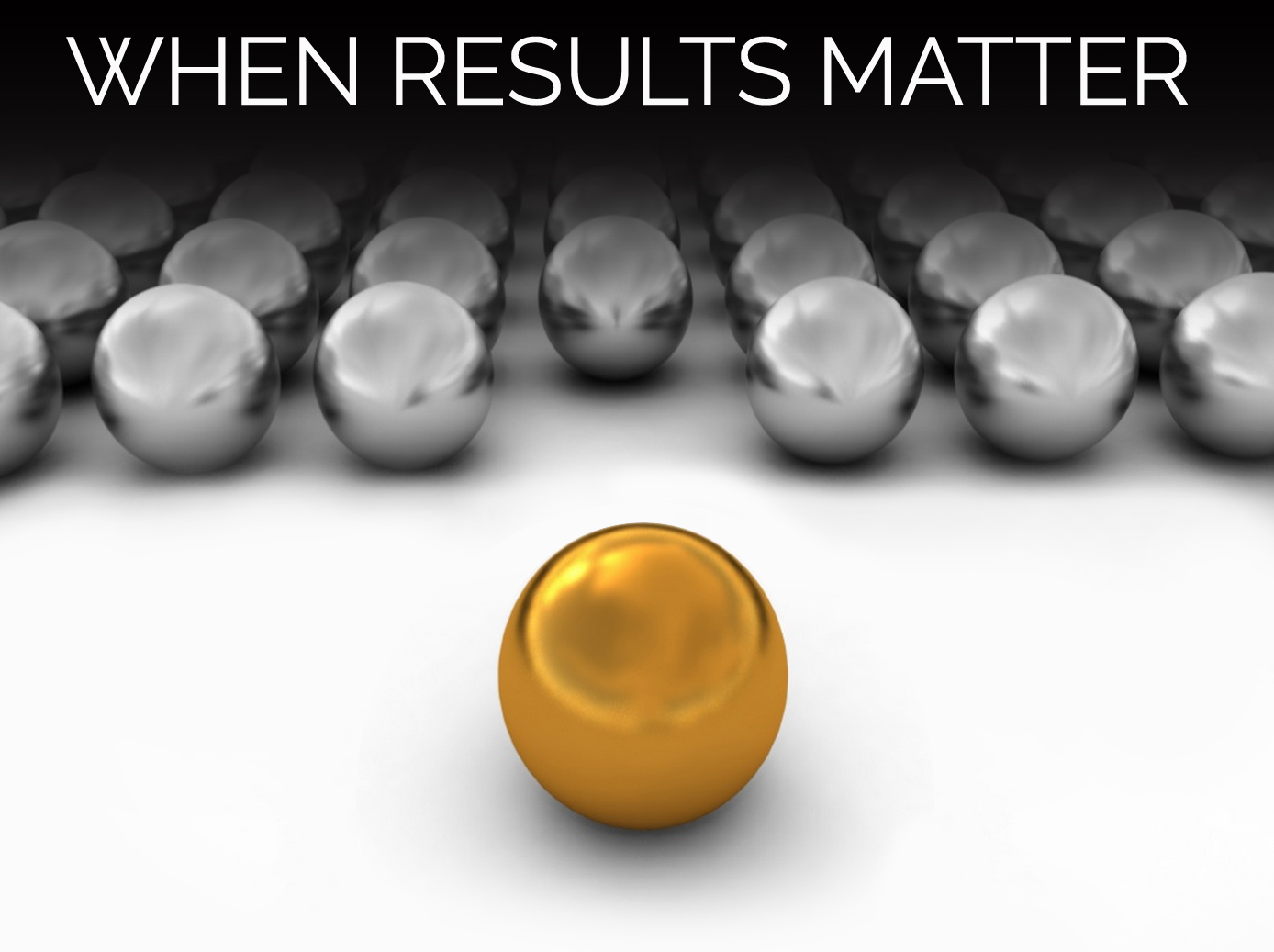 When Results Matter